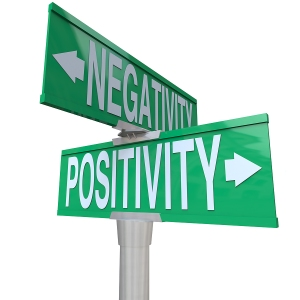 corner of negativity and positivity