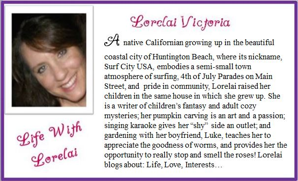 Lorelai - Blog Bio