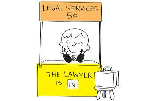 The Lawyer Is In
