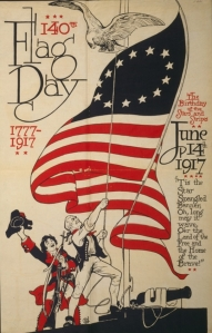 1917 Flag Day Poster