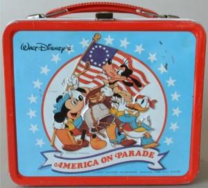 1976 Disney Bicentennial Lunchbox