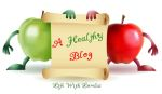 A Healthy Blog Apples with Scroll