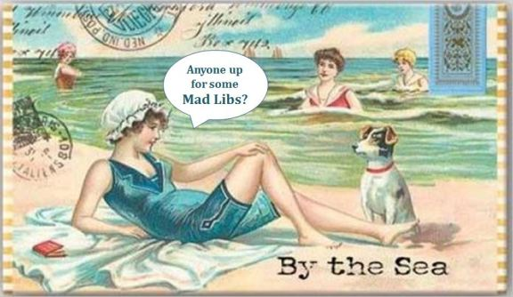 By the Sea - Vintage - Mad Libs