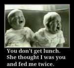 You Don't Get Lunch - Feed Me