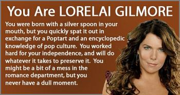 gilmore-lorelai-quiz-result
