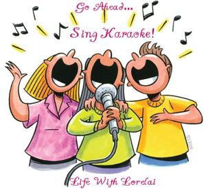 Go Ahead - Sing Karaoke - Life With Lorelai Blog