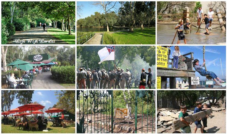 Huntington Beach - Central Park Collage