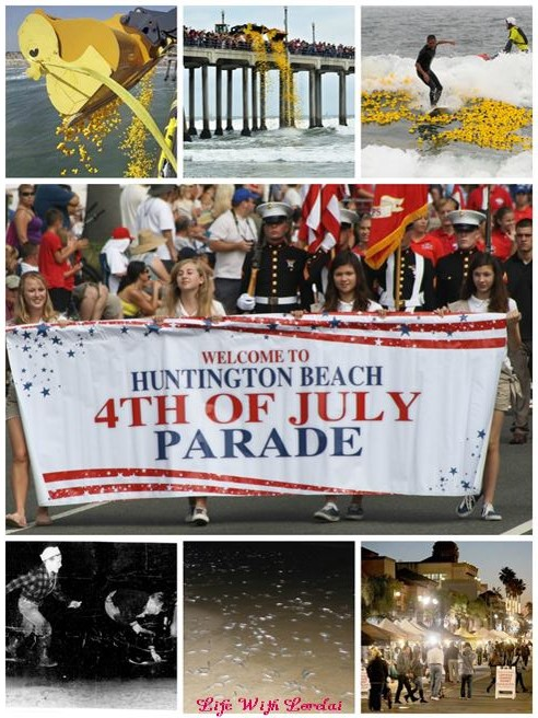 Huntington Beach Community Fun Collage