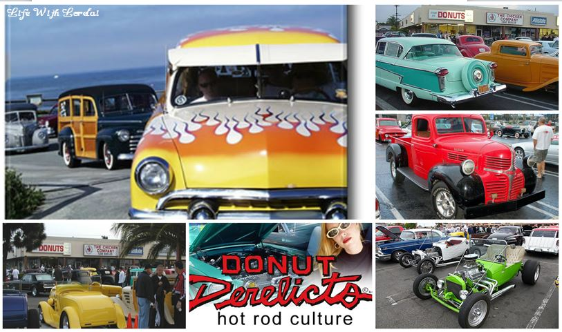 Huntington Beach - Donut Derelicts Collage