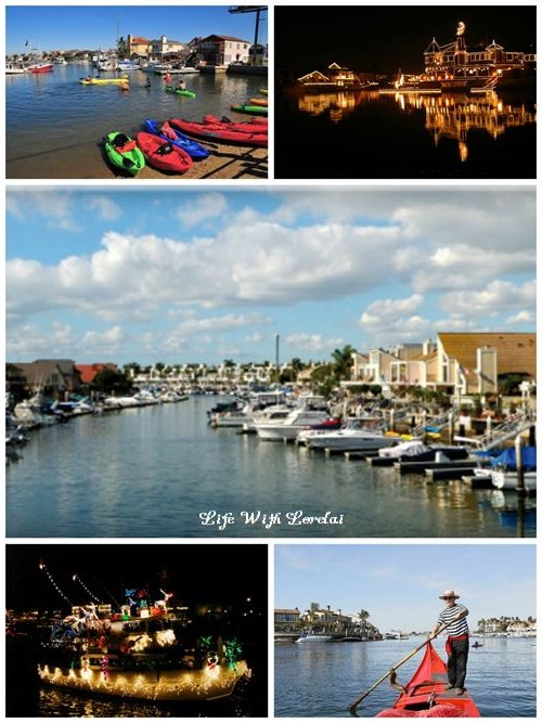 Huntington Harbor Collage