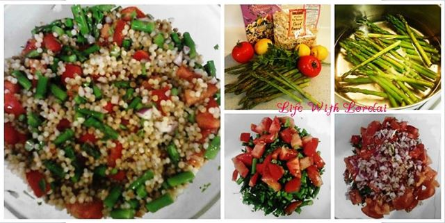 Lemon Asparagus Couscous Salad with Tomatoes 1rz Marked
