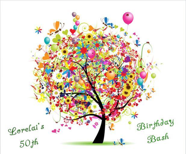 Birthday Tree - Lorelai's 50th Birthday Bash