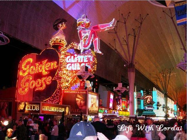 Golden Goose on Fremont Street, Las Vegas