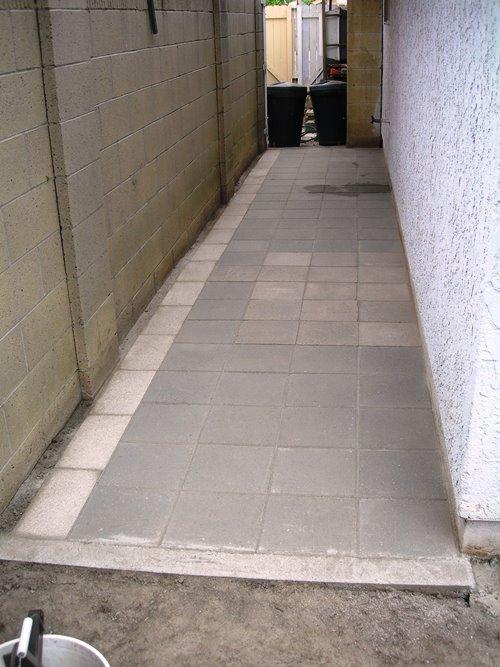 Paving Stone Walkway