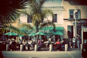 Huntington Beach - The Sugar Shack Cafe - photo by Edwin Villanueva