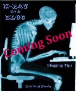 X-ray of a Blog - Blogging Tips - Life With Lorelai - Coming Soon