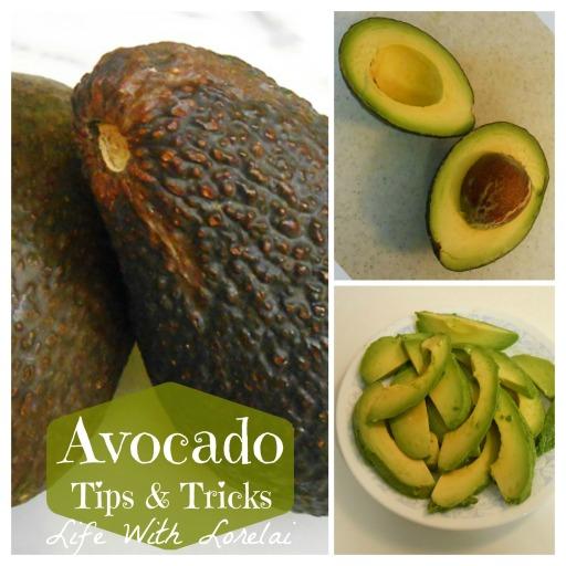 Avocado Tips & Tricks Collage | Life With Lorelai