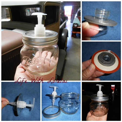 DIY Mason Jar Pump - Put It Together - Life With Lorelai 500x500