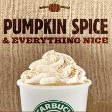 Pumpkin Spice & Everything Nice - Starbucks Pumpkin Spice Latte