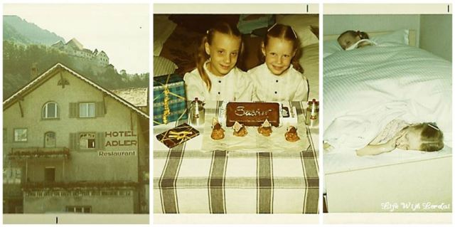 Family Trip Lucerne, Switzerland 1971 - Collage3