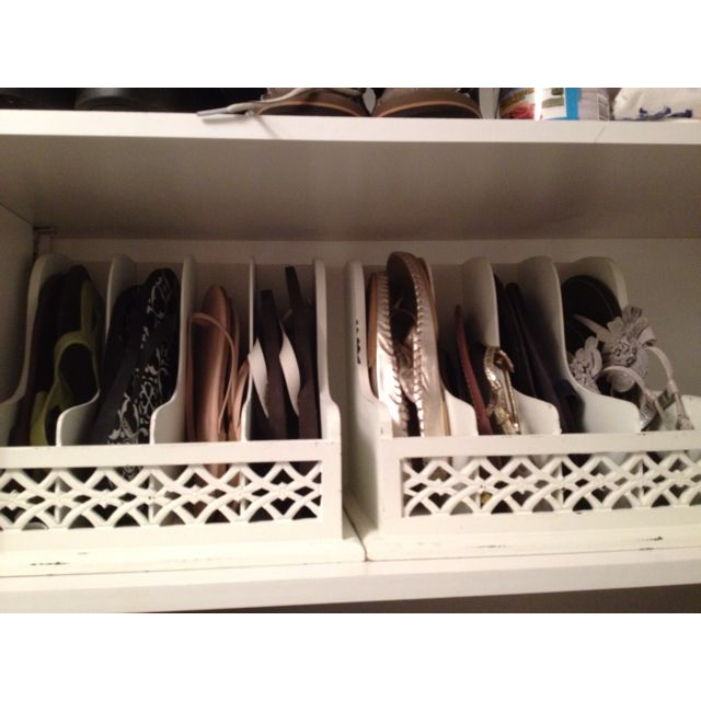 Flip Flop Holders - Organize | Life With Lorelai