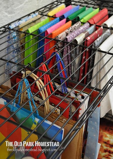 Gift Wrap Organization DIY Tutorial | Life With Lorelai