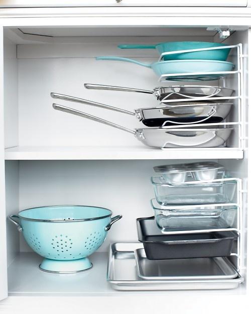 Kitchen Cookware Oragnizers | Life With Lorelai