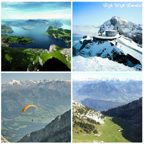 Mount Pilatus, Switzerland Collage