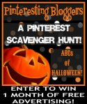 pinteresting halloween scavenger hunt