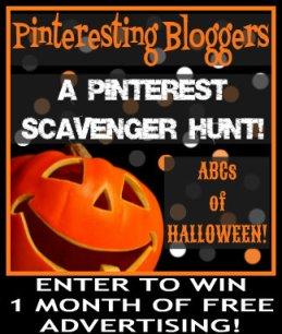 pinteresting halloween scavenger hunt