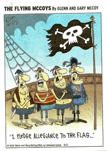 I Pledge Allegiance to the Flag (Jolly Roger)