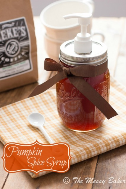 Homemade Pumpkin Spice Syrup Recipe with Printable