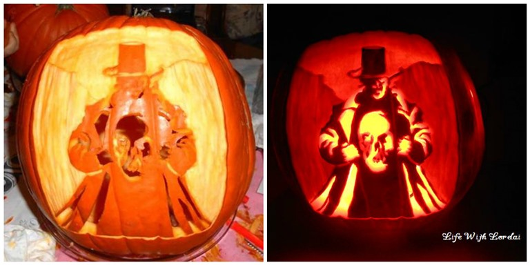 Dr Jeckyll and Mr Hyde Pumpkin Carving Comparison | Life With Lorelai
