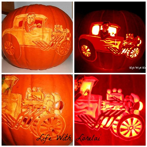 FrankenRod Pumpkin Carving Comparison | Life With Lorelai