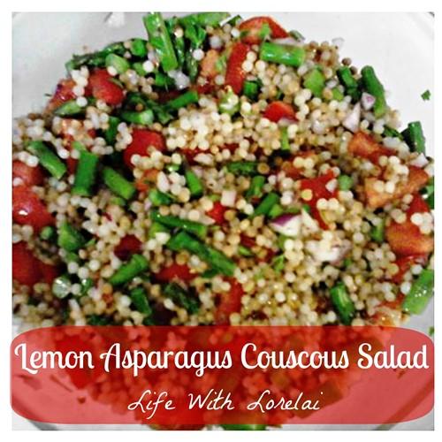 Lemon Asparagus Couscous Salad | Life With Lorelai