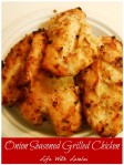 Onion Seasoned Grilled Chicken | Life With Lorelai