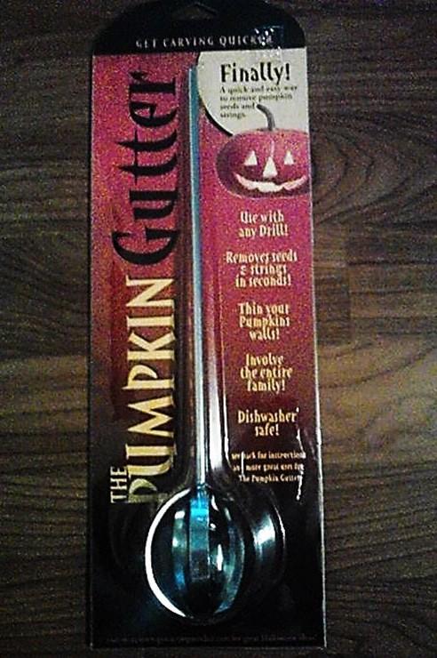 Pumpkin Gutter Drill Bit