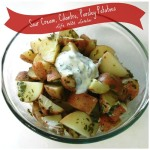 Sour Cream Cilantro Parsley Potatoes | Life With Lorelai