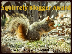 Squirrely Blogger Award