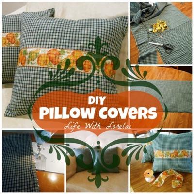 DIY Pillow Covers   Life With Lorelai