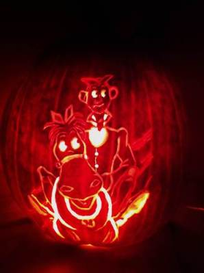 Ichabod Crane Pumpkin Carving - Rory - Life With Rory