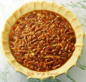 Mississippi Pecan Pie - pre bake | Life With Lorelai