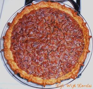 Mississippi Pecan Pie - whole bake | Life With Lorelai