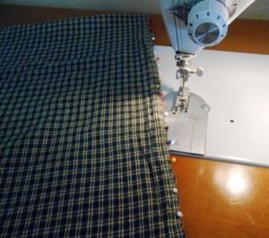 Pillow Cover Sewing