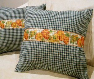 Pillow Covers with Ribbon close-up | Life With Lorelai