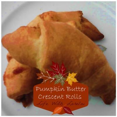 Pumpkin Butter Crescent Rolls | Life With Lorelai