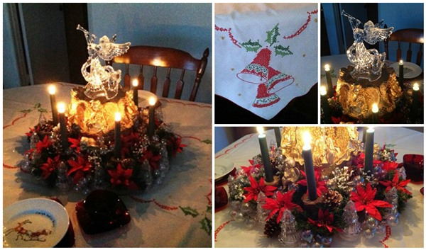 Dining Room Christmas Centerpiece - Life With Lorelai