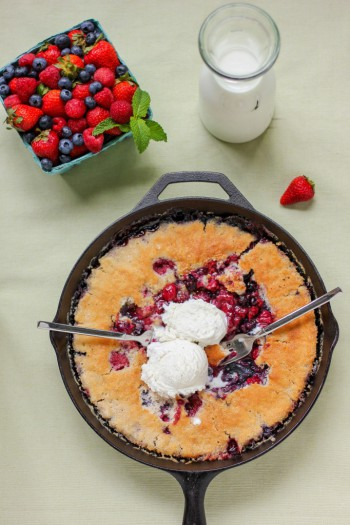End-of-Summer Berry Cobbler - Life With Lorelai